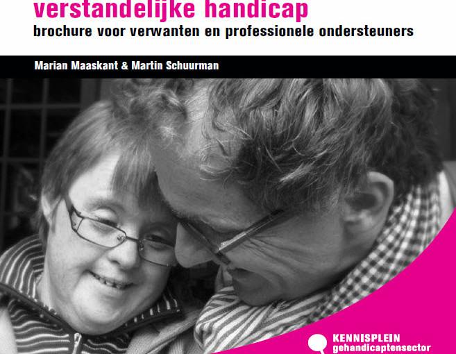 Brochure 'Dementie bij mensen met een verstandelijke handicap'