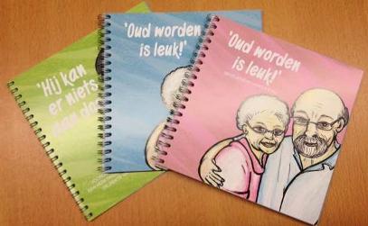 voorlichtingsboekjes oud worden is leuk