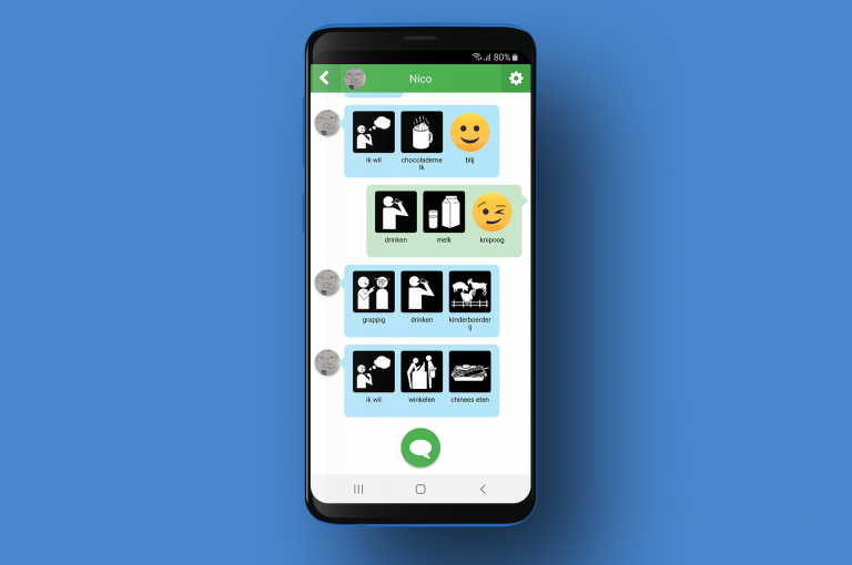 Pictostudio Hallo' een chat- en messaging app